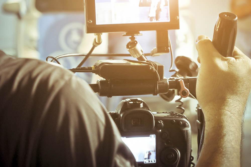 vierlaufende video film filmdreh kamera