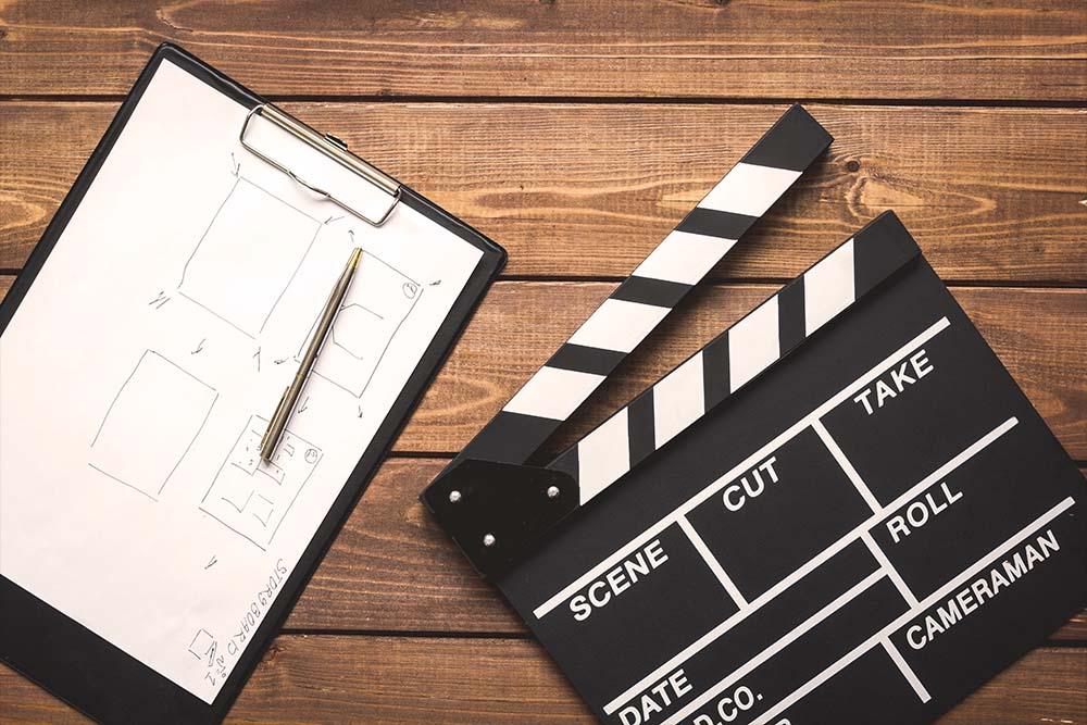 vierlaufende video film planung filmdreh