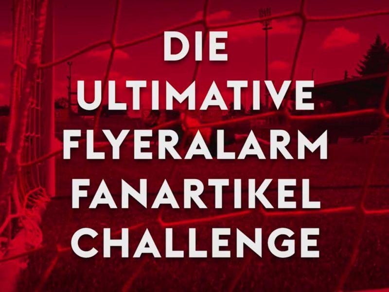 vierlaufende social media video flyeralarm challenge fc kickers
