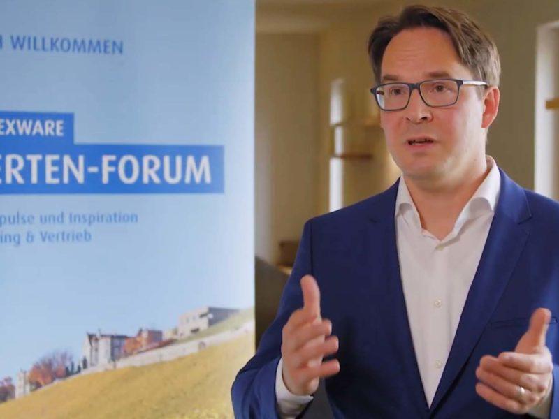 vierlaufende event video interview haufe expertenforum